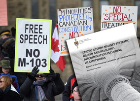 FUREY: M103 report makes Canada look like cesspool of intolerance