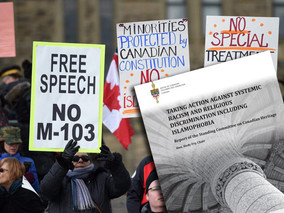 FUREY: M103 report makes Canada look like cesspool of intolerance