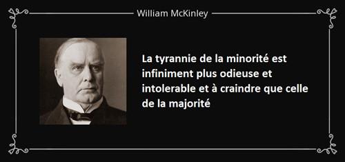 William McKinley quote