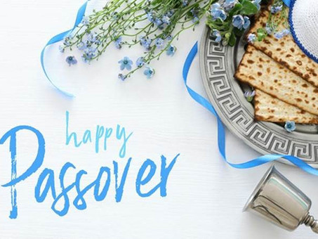PASSOVER GREETINGS and Things to Watch - CAEF Bulletin March 26, 2021
