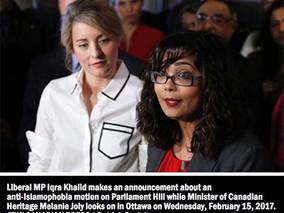 Toronto Sun: M-103 process lacked transparency
