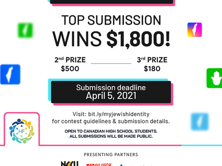 CILR supports #MyJewishIdentity New Media Contest