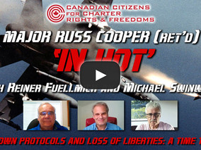 Major Russ Cooper (Ret'd) 'In Hot' with Reiner Fuellmich and Michael Swinwood