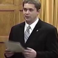 Andrew Scheer in 2005