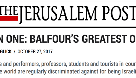 Balfour's Greatest Of Gifts