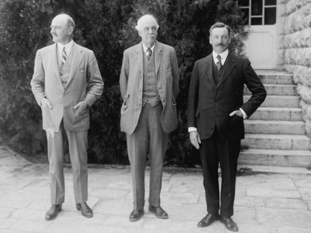 TODAY MARKS THE 103rd ANNIVERSARY OF THE BALFOUR DECLARATION