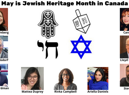 May is Jewish Heritage Month in Canada - CAEF Bulletin May 12, 2020