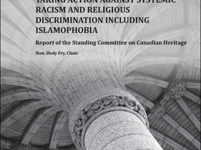 Heritage Committee Releases Report on Motion M-103