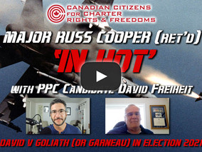 Major Russ Cooper (Ret'd) 'In Hot' with PPC candidate David Freiheit - 30 August 2021