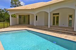 Pool and Patio Villa Estate Home
