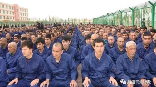 Uighur prison camp