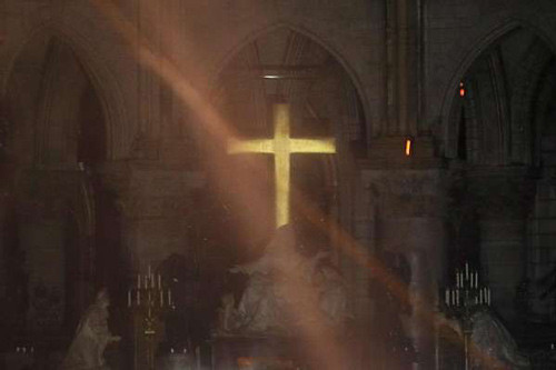 Notre Dame cross