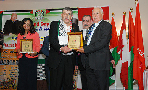 MP Iqra Khalid attended Land Day event organized by pro-Intifada Palestine House.