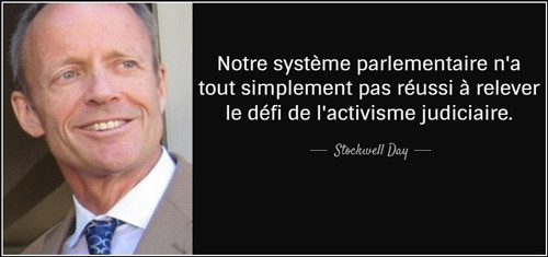 Stockwell Day quote francais