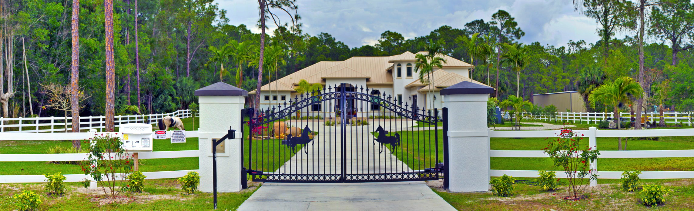 Gated Villa Estate Home