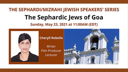 CILR IS PROUD TO SUPPORT The Sephardic Jews of Goa