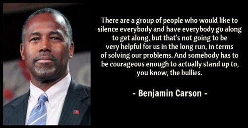 Benjamin Carson quote