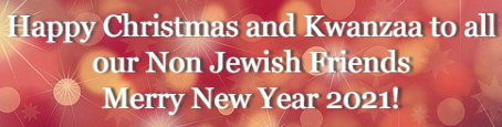 What is the Big Tent for Jews? CAEF Bulletin -- December 25 2020