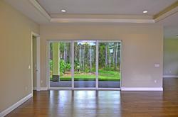 Collier Custom Home Living Area
