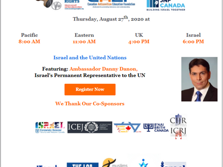 Schedule of CAEF Web Programs - Danon, Weiss, Lange - and recent Web Talk with Kedar