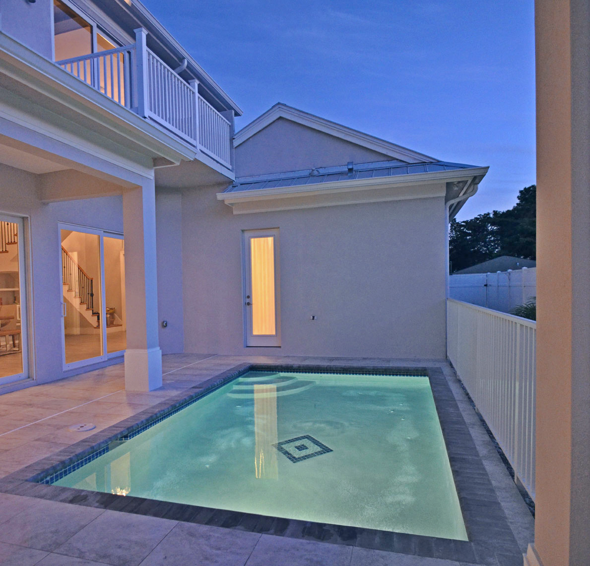 West Indies Courtyard Pool