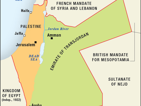 IN CASE YOU MISSED OUR WEBINAR:  99 YEARS SINCE THE MANDATE FOR PALESTINE
