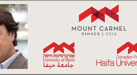 Robert Lantos' Speech at the 2016 Mount Carmel Dinner