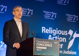 Rabbi Rick Jacobs, photo via Religious Action Center of Reform Judaism