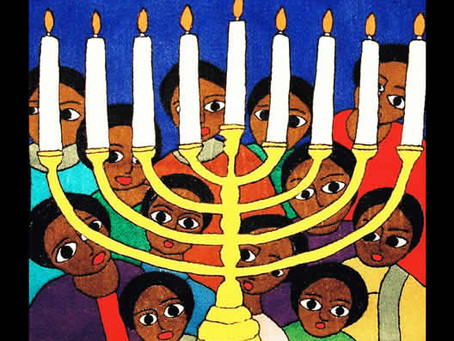 Chanukah Greetings - Let there be Light