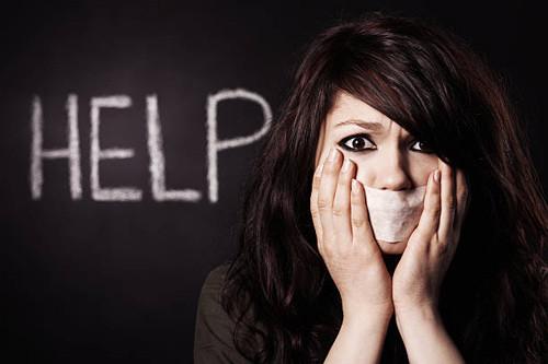 HELP - woman and free speech