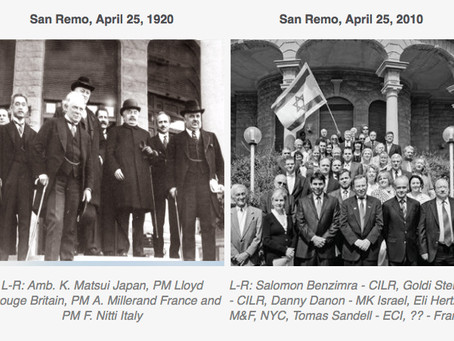 San Remo anniversary ahead of the 2020 centennial