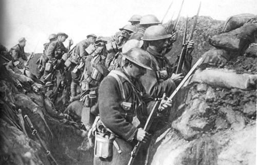 WW1 Troops