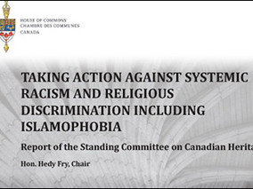 "Canada: M-103 Heritage Committee report promises government action against ""Islamophobia"""