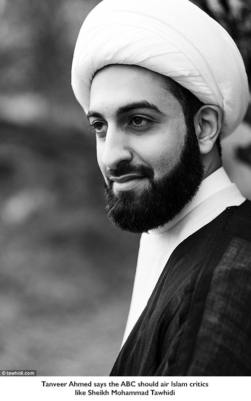 Sheikh Mohammad Tawhidi should be given air time on the ABC, Tanveer Ahmed says