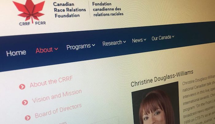 Canadian Race Relations Foundation website
