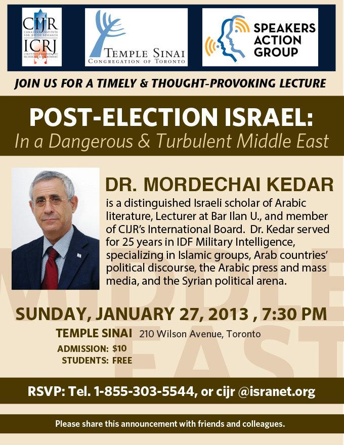 Mordechai_Kedar_PostElectionIsrael_Jan20