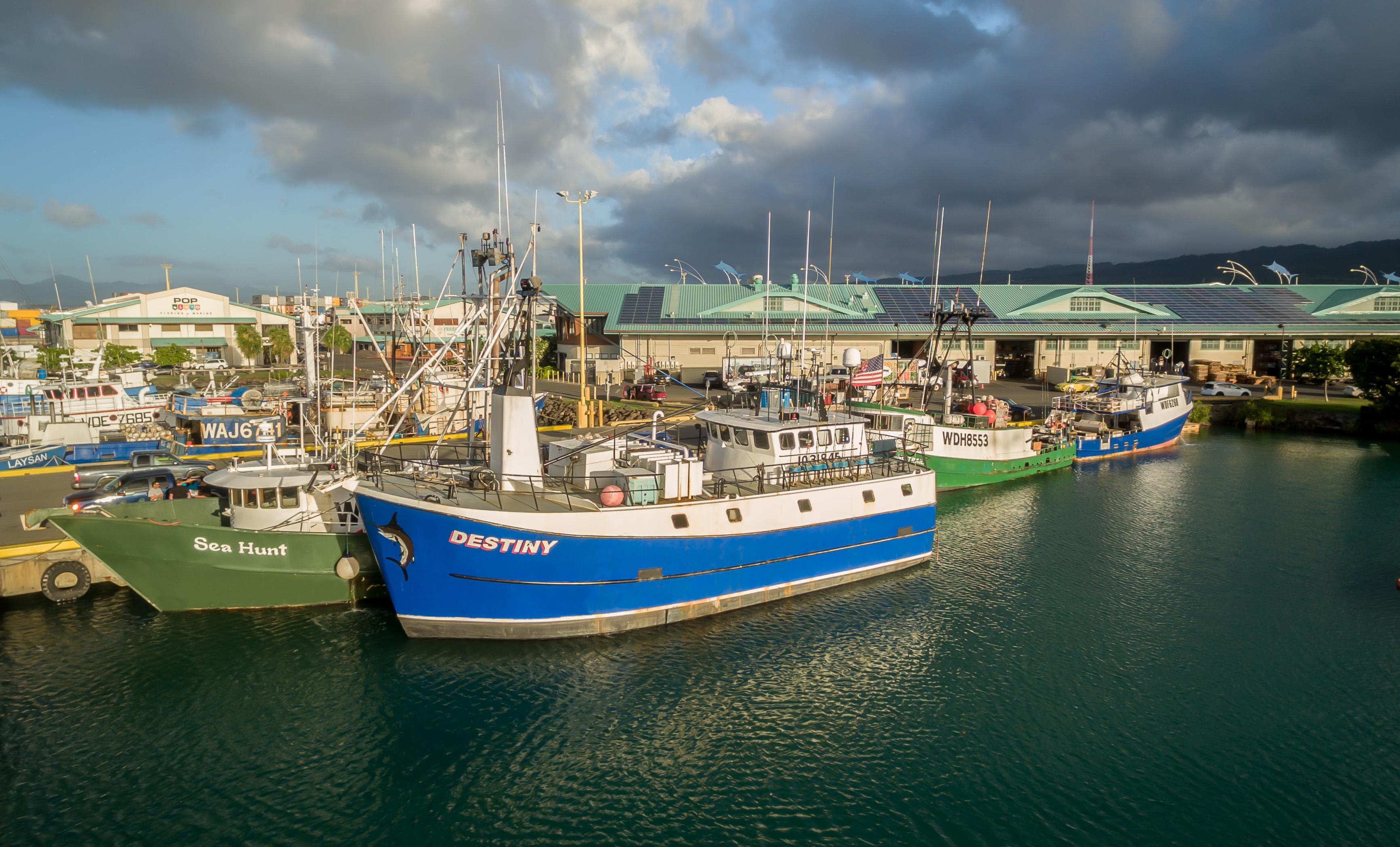 F/V Destiny Hawaiian Fresh Seafood