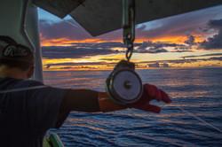 Longline Fishing For Tuna In Hawaii