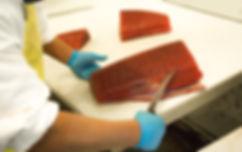 Bigeye tuna loins wholesale