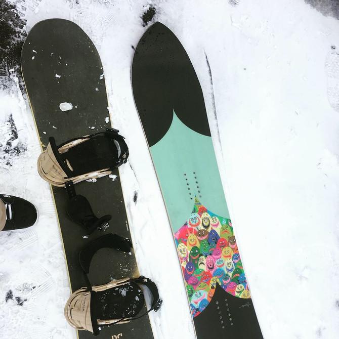 Original Snowboard 164cm