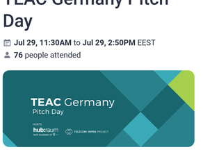 Poutanet @ TEAC Germany Pitch Day
