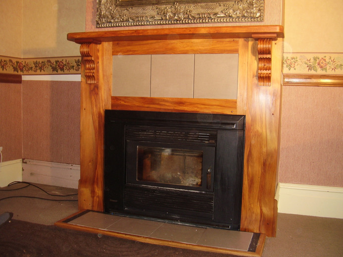 Fire Place Surround Price on Application.
