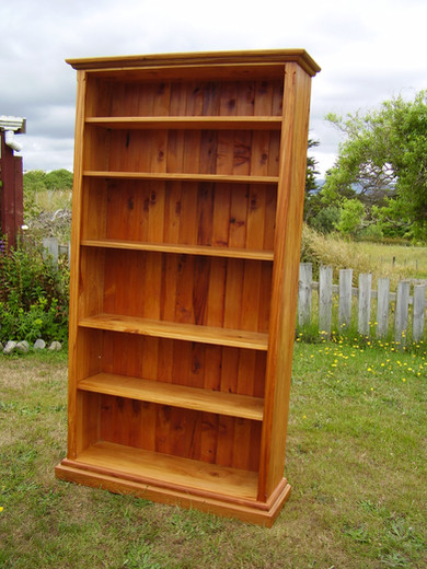 Bookcases. Various sizes and species, Price on Application.