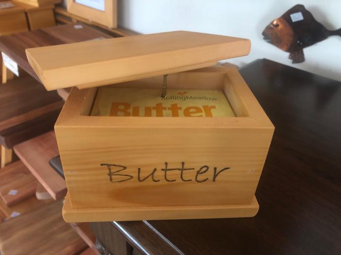 Kahikatea Butter Box. Okay in fridge. $39