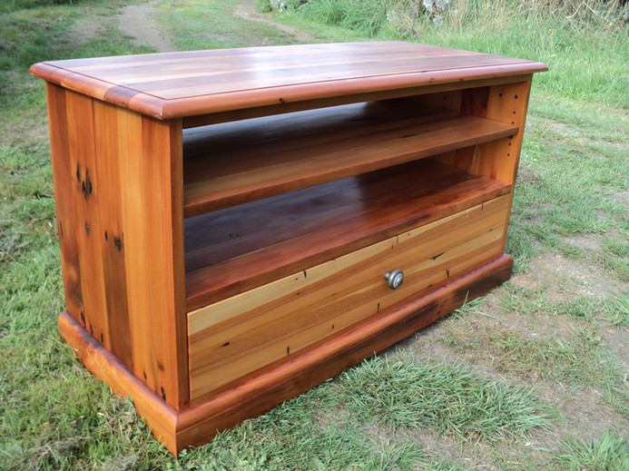 Recycled Matai Entertainment unit 1000L 420D 535H $1195. Other species and sizes on request.