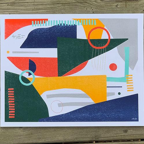Sail Away With Me - Print