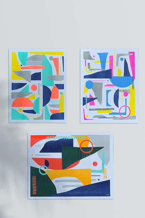 Collection Two - 3 Print Bundle