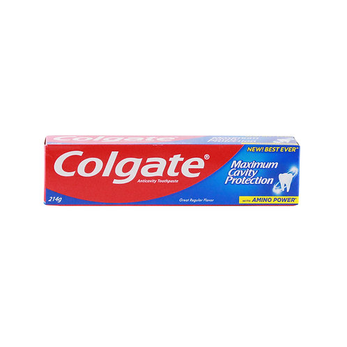 Colgate ToothPaste Great Regular Flavor 214g