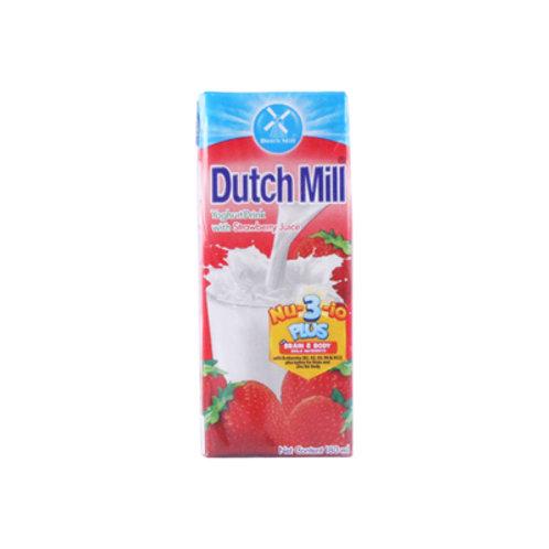 Dutchmill Yoghurt Strawberry 180ml