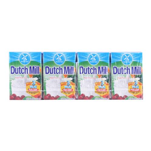Dutchmill Yoghurt Mixed Fruit 90ml x 4s